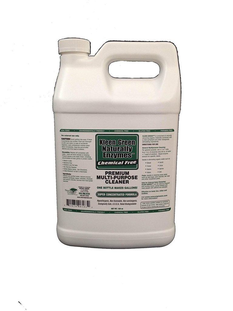 Kleen Green natural enzyme-based cleaner