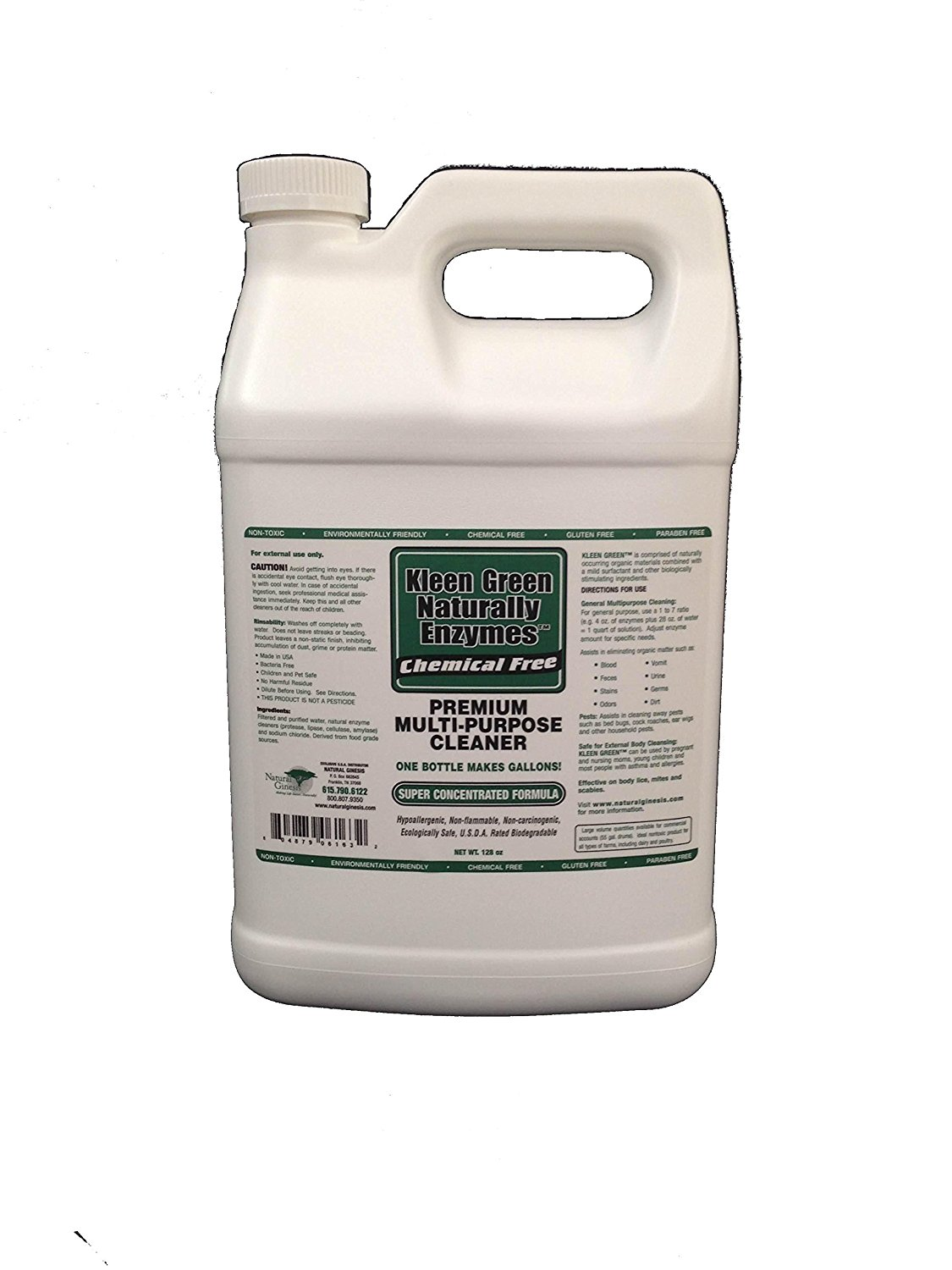 Kleen Green Organic Enzyme-Based Cleaner