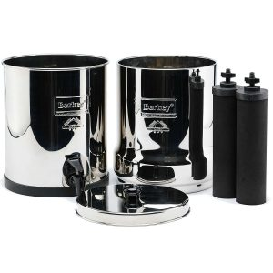Berkey Water Filter with dual Fluoride Filters