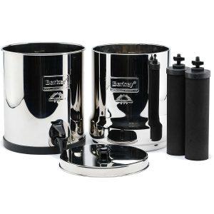 Berkey Water Filter with dual Fluoride Filters
